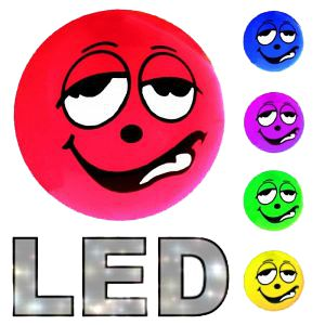 LED Smiley Flummiball