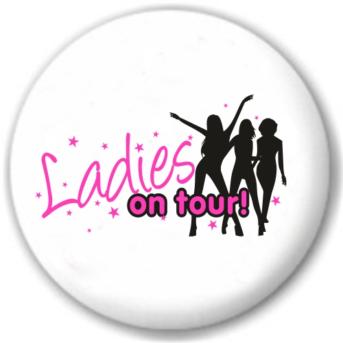 Ladies on Tour-Button