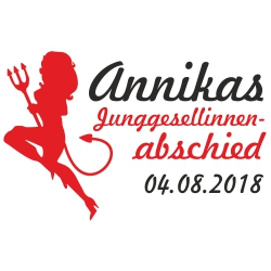 Junggesellinnenabschied + Name
