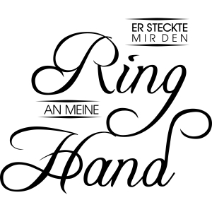 Ring an meiner Hand