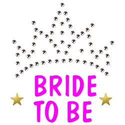 Strass Bride to be