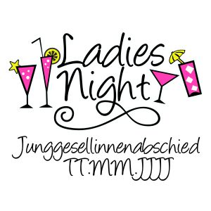 Ladies Night Cocktails